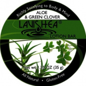 Lavishea Lotion Bar 35mls-Aloe and Green Clover