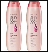 Lot of 2 Avon Skin So Soft SSS Soft & Sensual Ultra Moisturising Body Lotion 350mlea