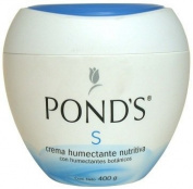 Pond's S Cream Humectant Moinstening,14oz Crema Humetante y Magnificante S De Ponds 400gr
