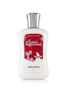 Bath & Body Works Holiday Traditions Twisted Peppermint Full Size 240ml Body Lotion.