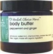 Herbal Choice Mari Body Butter Peppermint & Ginger 100ml/ 3.38oz JAR