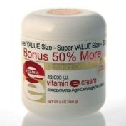 BONUS SIZE Vitamin E Cream 42,000 I.U. - 50% MORE FREE 180ml