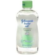 JOHNSON'S BABY OIL W/ALOE + E 410ml