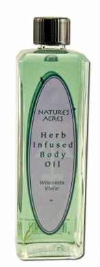 Four Elements - Body Oil, Wisconsin Violet, 120ml