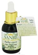 SanRe Organic Skinfood - Baby Eyes - USDA Organic Age-Defying Night Eye Serum For Delicate Eye Area