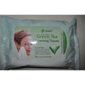 Epielle 30 pre-moistened Green Tea Cleansing Tissues