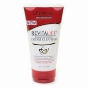 L'Oreal Paris RevitaLift Radiant Smoothing Cream Cleanser, 5-Fluid Ounce