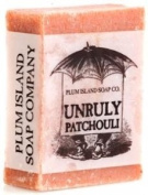 Plum Island Soap - Unruly Patchouli , All Natural Handmade Soap
