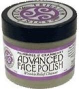 Face Polish Advanced Primrose & Cranberry Wrinkle Relief By Trillium 60ml Jar