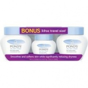 Ponds Dry Skin Cream, 300ml, 2 pk., with Bonus 120ml Travel Size