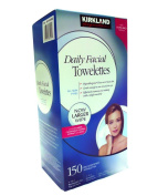 Kirkland Signature Hypoallergenic Daily Facial Towelettes 150 ct.