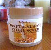 Honey & Almomd Facial Scrub/Pure Honey/Pure Almond Meal/180ml