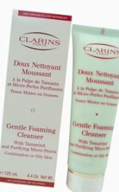 Clarins by Clarins: GENTLE FOAMING CLEANSER WITH TAMARIND & PURIFYING MICRO PEARLS ( COMBINATION/ OILY SKIN ) --/130ml