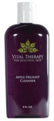 Vital Therapy For Beautiful Skin (Paraben-Free) Apple Delight Cleanser 120 ml/4 oz. Bottle - Moisture-rich cleanser that removes impurities and debris without stripping the skin.