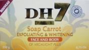 Dh7 Carrot Exfoliating And Whitening Soap 250G