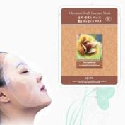 Natural Beauty Chestnut Shell Essence Full Face Mask 10 Pcs