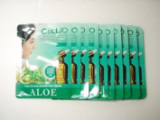 Korean Cosmetics Cellio Extra Soothing Essential Mask Aloe 10 sheets