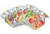 KOREAN COSMETICS, Baviphat_ Fruit Juicy Mask Sheet Set (10 sheets) (10 kinds of fruit mask pack, High nutrition, skin health)[001KR]