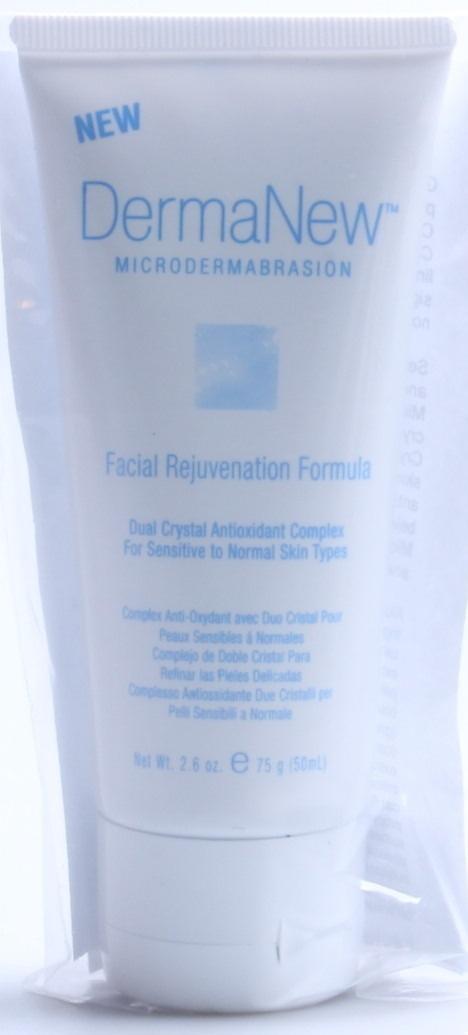 Dermanew facial rejuvenation microdermabrasion cream