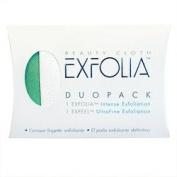 Exfolia DuoPack Facial Exfoliation Cloth Set 2 cloths by Beauty Cloth
