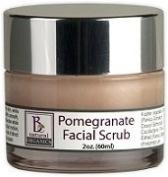 Be Natural Organics Pomegranate Facial Scrub 2 Oz