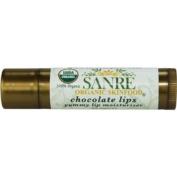 SanRe Organic Skinfood - Chocolate Lips - 100% USDA Organic Yummy Cocoa Day Lip Balm