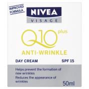Nivea Visage Anti-Wrinkle Q10 plus Day Cream 50 ml