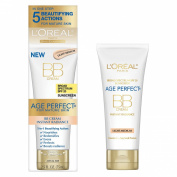 NEW L'Oreal Age Perfect Instant Radiance BB Cream SPF 20 - Light/Medium