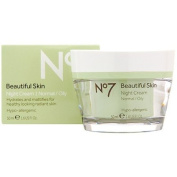 Boots No7 Beautiful Skin Night Cream for Normal / Oily Skin 50ml