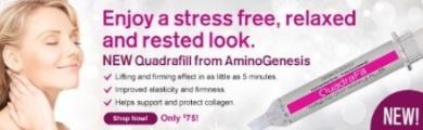 AminoGenesis QuadraFill Targeted Deep Wrinkle Filler 10ml
