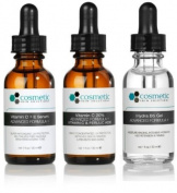 3 combo pack - CE Ferulic serum + Vitamin C 20% + Hydrating B5 Gel Advanced Formula +. Prevent / Hydrate - 1 fl oz / 30 ml each - Advanced antioxidant treatment with hydrating gel.