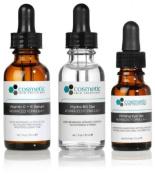 Vitamin C+E Serum + Hydra B5 Gel + Firming Eye Gel Advanced Formula +. Prevent / Hydrate / Firm Eyes - 3 Combo Pack - 1 fl oz / 30 ml each.