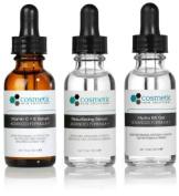 Vitamin C+E Serum + Resurface serum + Hydra B5 Gel Advanced Formula +. Prevent / Resurface / Hydrate - 3 Combo Pack - 1 fl oz / 30 ml each.