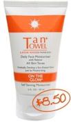 TanTowel On The Glow - Daily Face Moisturiser with retinol, 60ml