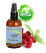 RASPBERRY SEED OIL 100% Pure / Natural / Virgin. Cold Pressed / Undiluted. For Face, Hair and Body. 1 Fl.oz.- 30 ml. by Botanical Beauty