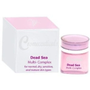 Dead Sea MultiBalm Complex for dry, sensitive, delicate, and mature skin types. Nutritional Night and Day Thearapy. COSMECEUTICALS 1.7 oz - 50 ml