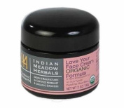 "Indian Meadow Herbals Love your face ""Organic"" Formula 60ml"