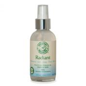 Organic Radiant Advanced Anti-Ageing Toner with Egyptian Geranium, DMAE, MSM, Paraben Free