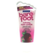 Freeman Bare Foot Lotion Peppr Mint & Plum 160ml (3-Pack) with Free Nail File