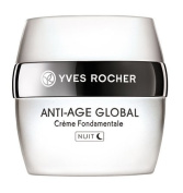 Yves Rocher Anti-Age Global Complete Anti-ageing Night Care Cream, 50 ml