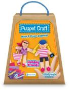 Fiesta Crafts Ltd Holiday Friends Puppet Craft