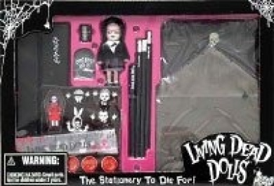 Living Dead Dolls the Stationery to Die For