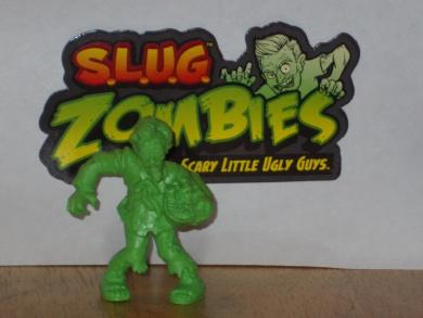 """S.L.U.G. SLUG ZOMBIES FIGURES - """"EXTRA CRISPY"""" Series 3 Figure"""