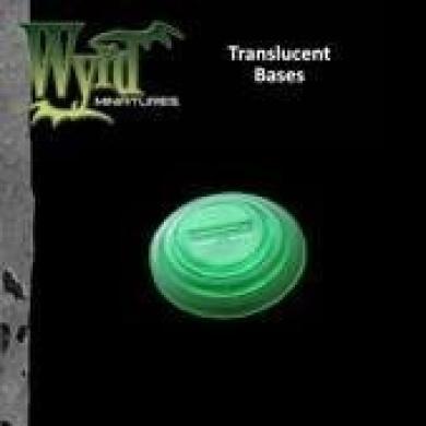 Green Translucent Bases 30mm (10) WYR0049 WYRD MINIATURES