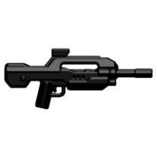 Brickarms Custom Minifigure Weapon - Xbr-10cm Black - X-series Ideal For Halo