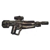 Brickarms Custom Minifigure Weapon - Xdmr In Gunmetal/black Tiger Camo - X-series Ideal For Halo