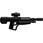Brickarms Custom Minifigure Weapon - Xdmr In Black - X-series Ideal For Halo