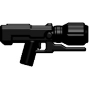 Brickarms Custom Minifigure Weapon - Xlmd In Black - X-series Ideal For Halo
