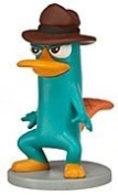 Disney Phineas and Ferb Exclusive 5.1cm PVC Figure Agent P