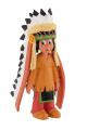 Yakari - Yakari Figurine with Headdress 6 cm